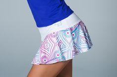 Falda básica blanco-trival, consulta tu talla Tennis Clothes, Talbots, Active Wear, Gym Shorts Womens, Mini Skirts, Running, Golf, Outfits, Sport