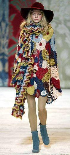 213 Fantastiche Immagini Su Cappotto Alluncinetto Crochet Clothes
