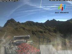 Live camera Webcam der Kanzelwandbahn Riezlern, Austria.