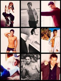 The men of the Vampire Diaries - By far the most attractive cast in the world!