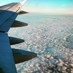 Great view from above. Pity it's so darn cloudy down here. #instatravel