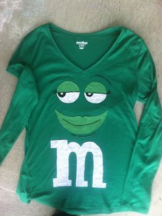M&M's Green Shirt
