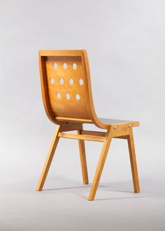 Set of 12 Roland Rainer Stacking Chairs, Vienna, 1952 image 3