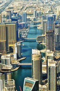 Dubai Marina Scape by Manu Gopal on 500px