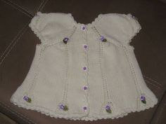 karpuz kollu bebe yeleği - Kadınlar Sitesi Baby Knitting Patterns, Baby Patterns, Summer Dresses, Crochet, Fashion, Sweater Vests, Wraps, Projects, Moda