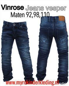 Stoere jeans Vesper van het merk Vinrose te bestellen bij myrokinderkleding.nl