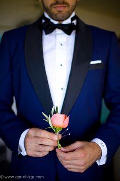 Blue Tux von Chase Thomas Custom Bräutigam anzug Blue Tux by Chase Thomas Custom Groom suit Best Wedding Suits, Blue Suit Wedding, Wedding Groom, Wedding Attire, Wedding Tuxedos, Groom Tuxedo, Tuxedo For Men, Groom Wear, Groom Attire