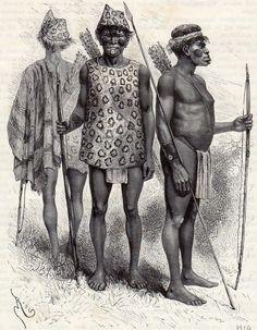 Indios warao. Cumaná, Venezuela, 1887.