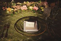 Inspired by her love of The Secret Garden, this bride planned one heck of a fairy tale wedding, if I do say so myself. From the stacks of antique books covered in moss, to the brass keys that led gues...