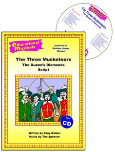 The Three Musketeers - The Queen's Diamonds The Three Musketeers, School Play, Musicals, Writing, Education, Plays, Diamonds, Games, Onderwijs