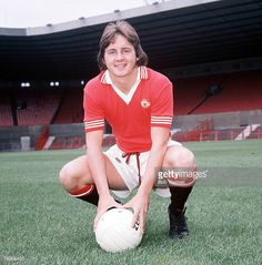 Football Manchester United Photocall A portrait of David McCreery