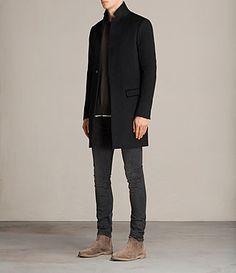 Mens Bodell Coat (Black)