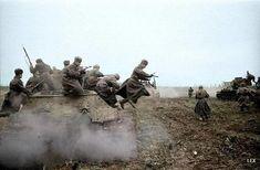 Великая Отечественная Война в цвете… (88 фото)  The Great Patriotic War in color ... (88 photos)