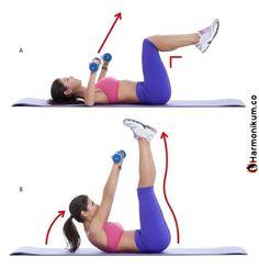 10 gyakorlat, hogy megszabadulj a hát és hónalj alatti zsírtól 20 perc alatt – Harmonikum