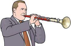 管楽器:テノーラの演奏 / tenora player