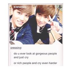 Do you? :3 #Kai #Suho #EXO #EXO-K