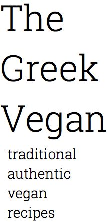 The Greek Vegan - Recipes by Category