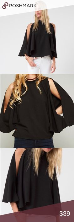 Open Shoulder Top with Kimono Sleeves Open Shoulder Top with Kimono Sleeves MayMay's Boutique Tops Blouses