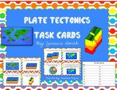 Plate Tectonics Task Cards!