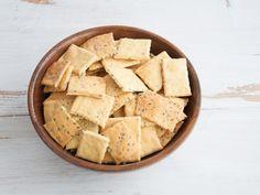 Gluten-free Vegan Chickpea Crackers |ElephantasticVegan.com