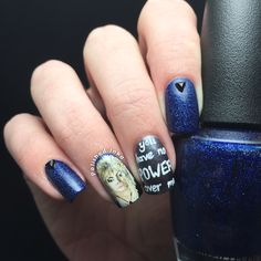 Labyrinth Nail Art | Polished Inka