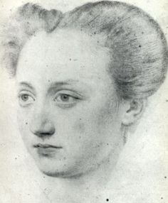 Marie Touchet  by Jean de Court  Mistress of Charles of France  One child