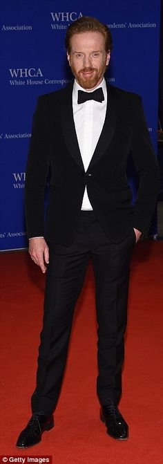 Tom Hiddleston and Damian Lewis turn out at White House Correspondents' Dinner | Daily Mail Online