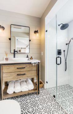 modern bathroom design | dream bathroom | tile shower
