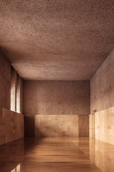 Specus Corallii (Trapani is an architectural work designed by Sicilian architect Antonino Cardillo for Trapani Cathedral (Sicily). Photography by Antonino Cardillo. Art And Architecture, Architecture Details, Interior And Exterior, Interior Design, Design Art, Classical Elements, Tadelakt, Dezeen, Brick