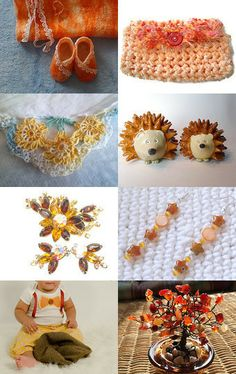 spring is on its way by Kathy C on Etsy featuring the amber colored necklace from EtsyBetsyCash--Pinned with TreasuryPin.com