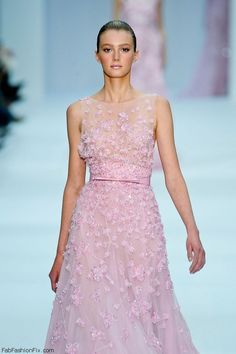 Sigrid Agren for Elie Saab Haute Couture spring/summer 2012 collection. #eliesaab