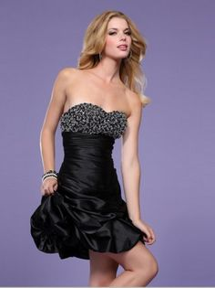 2012 Style Sheath / Column Sweetheart  Beading  Sleeveless Short / Mini  Taffeta Cocktail Dresses/ Homecoming Dresses