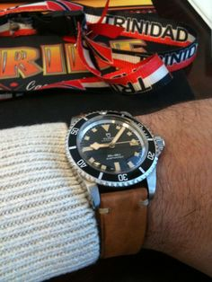 Vintage watch: Tudor Submariner snowflake.