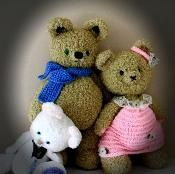 THE THREE BEARS - via @Craftsy
