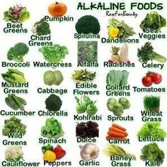 Alkaline food chart perfect for the NutriBullet! Cabbage Flowers, Green Cabbage, Alkaline Diet, Alkaline Foods, Alkaline Fruits, Nutribullet, Tempeh, Tofu, Pumpkins