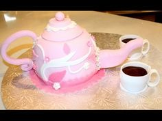 TUTORIAL: Mini servizio da tea/caffè in pdz - YouTube