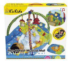 K's Kids Manta de juego y descanso musical