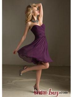 Short Chiffon Bridesmaid Dresses Under 100 purple bridesmaid dress