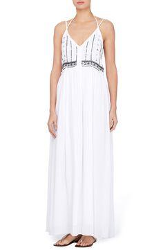 New Catherine Catherine Malandrino Leila Maxi Dress, Magenta fashion dress online. [$138]>>newtstyle Shop fashion 2017 <<