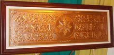 Informasi grosir kerajinan kaligrafi kuningan di Boyolali, Hubungi Inara Metal Art = 0812 2609 4445. Grosir kerajinan kaligrafi kuningan berkualitas dengan pelayanan yang profesional.