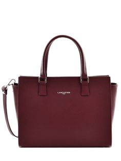 Lancaster handbag black gmbf on sale at the best price - Adele Trapeze Bag Lancaster Leather Red adele Black Handbags, Purses And Handbags, Sac College, Briefcase Women, Women's Briefcase, Adele, Leather Apron, Backpack Purse, New Bag