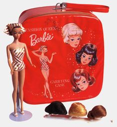 I had this barbie and wig set! Sadly, I only have two wigs left and no Barbie or the other wig