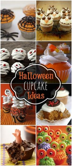 A must see collection of Halloween cupcakes on { lilluna.com }