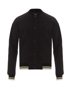 Teddy Seven cotton and wool-blend bomber jacket   A.P.C.   MATCHESFASHION.COM US