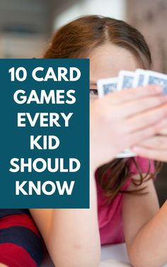 Fun and easy card games for kids and families. 10 basic card games using a standard deck of cards everyone will love. Fun Group Games, Kid Games, Family Games, Family Activities, List Of Card Games, Fun Card Games, Card Games For Kids, Games To Play With Kids, Indoor Activities For Kids