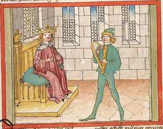 Bibel AT, dt.: Könige, Paralipomenon I und II, Esra, Tobias, Judith, Esther, Hiob — Stuttgart (?) -  Werkstatt Ludwig Henfflin, 1477 Cod. Pal. germ. 17 Folio 24r