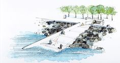 Image 15 of 16 from gallery of Dania Park / Thorbjörn Andersson with Sweco Architects. Sketch