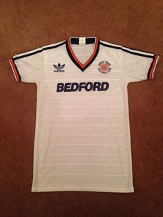 16bef9ea6 Luton Town Home Shirt 1985 86 Classic Football Shirts