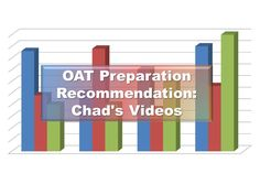 For all of you pre-optometry students out there preparing to take the OAT, here is a testimonial from an applicant who used Chad's Videos. Southern California Colleges, Optometry School, Teaching Tools, Bar Chart, Students, Videos, Teacher Tools, Bar Graphs, Video Clip