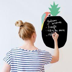 Sticker mural en ardoise Coco : Mimi'lou - Berceau Magique